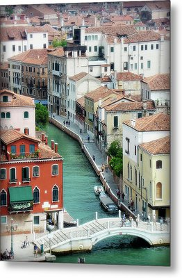 Venice City Of Canals Metal Print by Julie Palencia