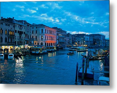 Metal Print featuring the photograph Venice Evening by Eric Tressler