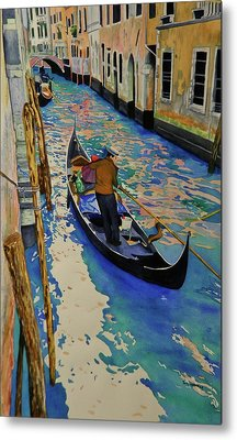 Venice Italy Metal Print by Terry Honstead