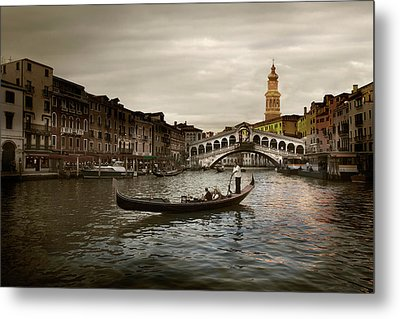 Metal Print featuring the photograph Venice by John Hix