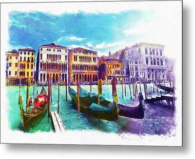 Venice Metal Print by Marian Voicu