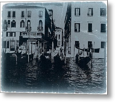Venice Metal Print by Naxart Studio