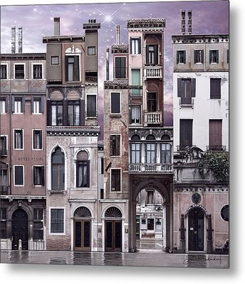 Venice Reconstruction 1 Metal Print