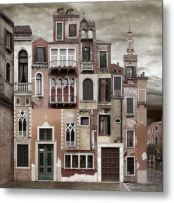 Venice Reconstruction 2 Metal Print
