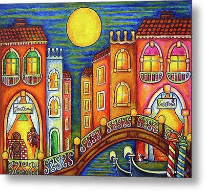 Venice Soiree Metal Print
