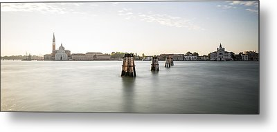 Venice Sunrise 00365 Metal Print by Marco Missiaja