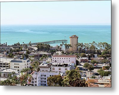 Ventura Coastal View Metal Print