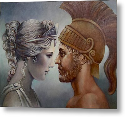 Venus And Mars Metal Print by Geraldine Arata