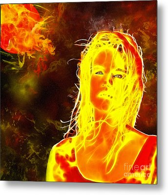 Venus Is Home Metal Print