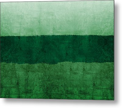 Verde Landscape 1- Art By Linda Woods Metal Print by Linda Woods