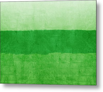 Verde Landscape 2- Art By Linda Woods Metal Print by Linda Woods