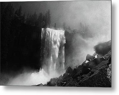 Vernal Falls And Mist Trail Metal Print by Raymond Salani III