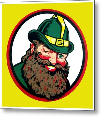 Vernors Ginger Ale - The Vernors Gnome Metal Print