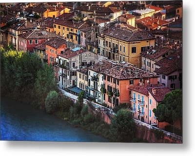 Verona City Of Romance Metal Print