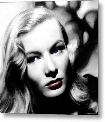 Veronica Lake Portrait #1 Metal Print
