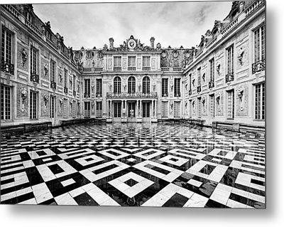 Versailles Architecture Paris Metal Print by Pierre Leclerc Photography