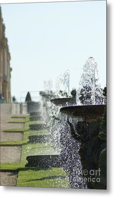 Versailles Fountains Metal Print