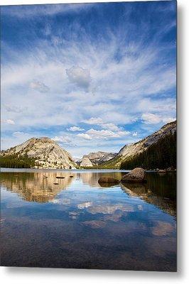 Vertical Version Of Lake Tenaya Metal Print by Mimi Ditchie Photography