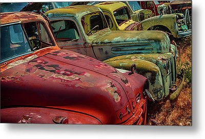 Very Late Models Metal Print