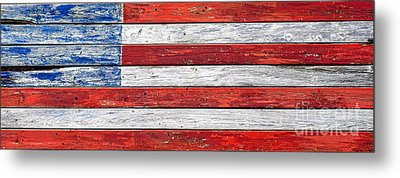 Very Old Glory Metal Print by Olivier Le Queinec