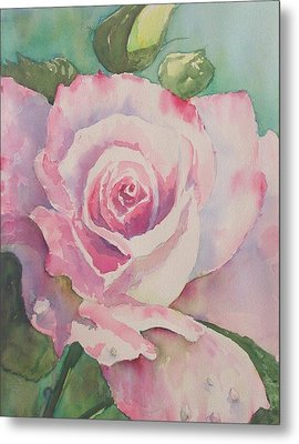 Very Rose  Metal Print
