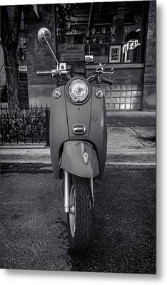 Metal Print featuring the photograph Vespa by Sebastian Musial