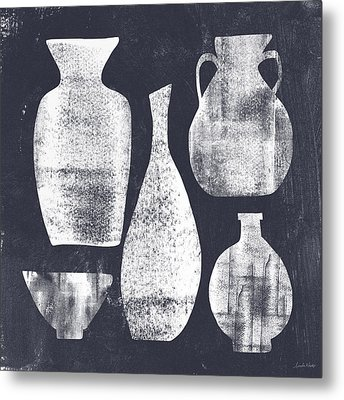 Vessel Sampler- Art By Linda Woods Metal Print by Linda Woods