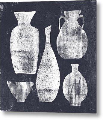Vessel Sampler- Art By Linda Woods Metal Print