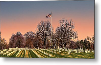 Veterans Metal Print by William Morris