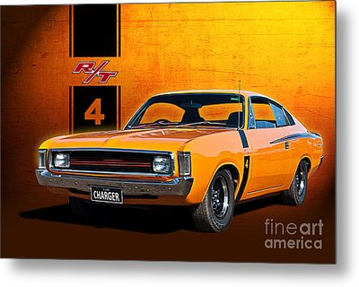 Vh Valiant Charger Metal Print