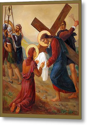 Via Dolorosa - Veil Of Saint Veronica - 6 Metal Print