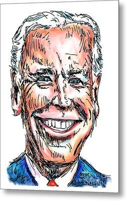 Vice President Joe Biden Metal Print by Robert Yaeger