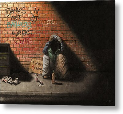 Victim Of Circumstance Metal Print by Conor O'Brien