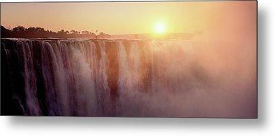 Victoria Falls, Zimbabwe Metal Print by Ben Cranke