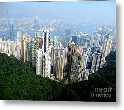 Metal Print featuring the photograph Victoria Peak 1 by Randall Weidner