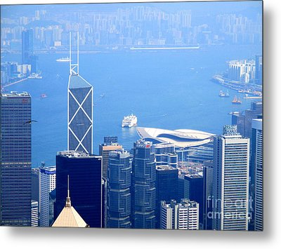 Metal Print featuring the photograph Victoria Peak 2 by Randall Weidner