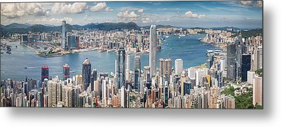 Victoria View Point Metal Print by Anek Suwannaphoom