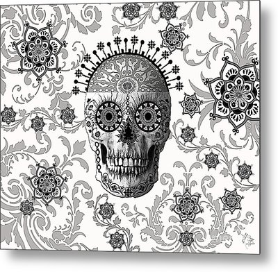 Victorian Bones Metal Print by Christopher Beikmann