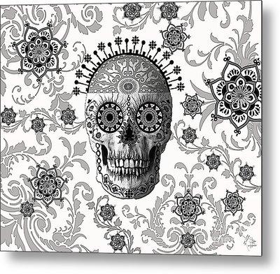 Victorian Bones Metal Print