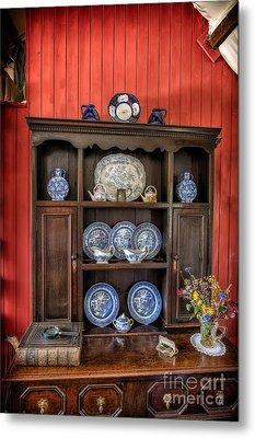 Victorian Dresser  Metal Print by Adrian Evans