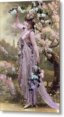 Victorian Erotic Postcard 2 Metal Print