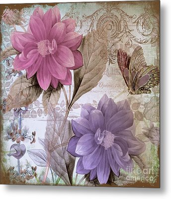 Victorian Romance Metal Print by Mindy Sommers