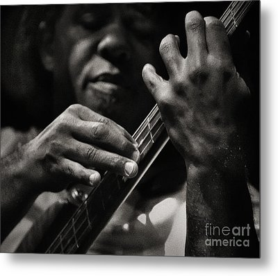 Metal Print featuring the photograph Victor's Groove by Michel Verhoef