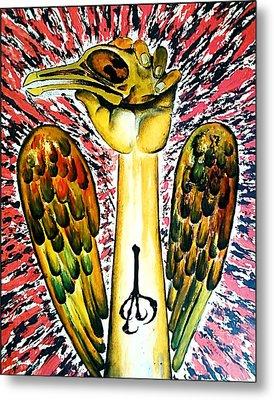 Victory Of Perseverance Metal Print by Paulo Zerbato