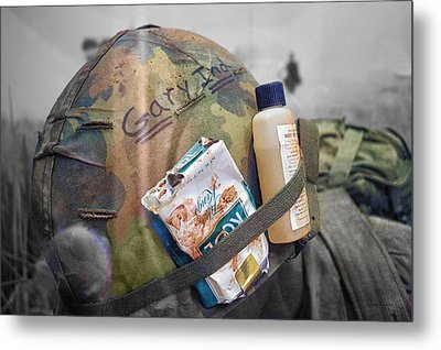 Vietnam A Pack Of Cools From Gary Ind Metal Print