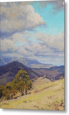 View Across The Kanimbla Valley Australia Metal Print