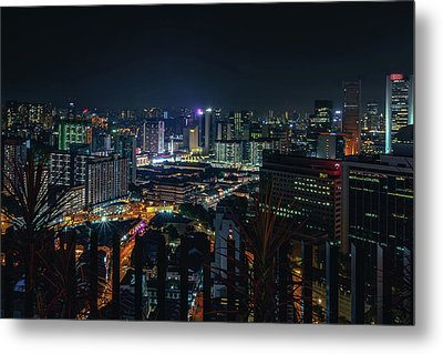 View From 21st Metal Print
