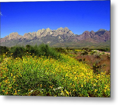 View From Dripping Springs Rd Metal Print by Kurt Van Wagner