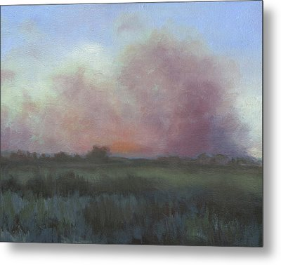 View From Fort Collins Metal Print by Natalie Touchberry