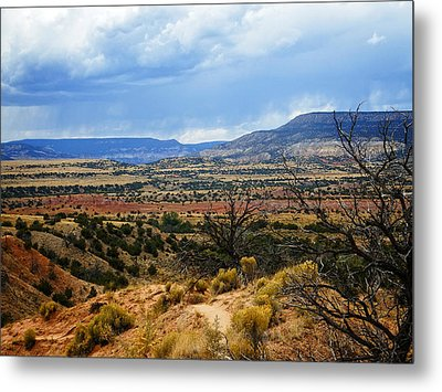 Metal Print featuring the photograph View From Ghost Ranch, Nm by Kurt Van Wagner